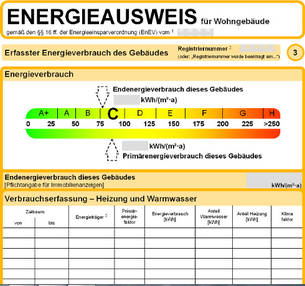 Energierausweis