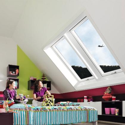 wohndachfenster verbessert den schallschutz des hauses energie fachberater. Black Bedroom Furniture Sets. Home Design Ideas