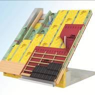 Feuchtevariable Dampfbremse Schutzt Dachdammung Vor Feuchtigkeit