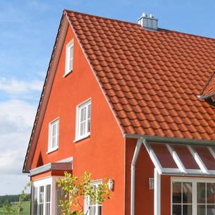 Latest Erdige Und Sandige Naturfarben Passen Gut Zu Und Fgen Sich  Harmonisch In Die Umgebung Des With Haus Auenfarbe