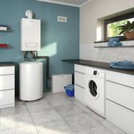 wandh ngende gasheizung mit zwei heizkreisen energie. Black Bedroom Furniture Sets. Home Design Ideas
