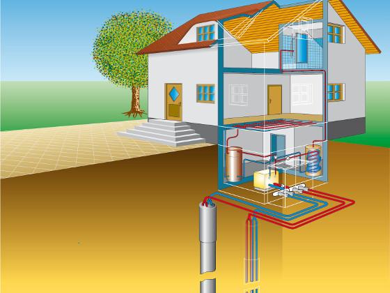 Геотермальное отопления дома своими руками