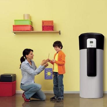warmwasser w rmepumpe bringt hohen komfort und niedrige. Black Bedroom Furniture Sets. Home Design Ideas