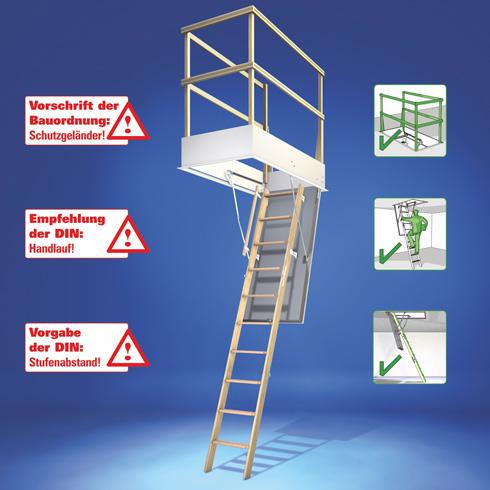 Bodentreppe So Gelingt Der Einbau Luftdicht Energie Fachberater