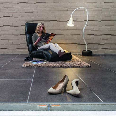 fu boden gleichm iges fugenbild bei gro en fliesen energie fachberater. Black Bedroom Furniture Sets. Home Design Ideas