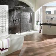 ziegel f r die innenraumgestaltung in wohnzimmer k che. Black Bedroom Furniture Sets. Home Design Ideas