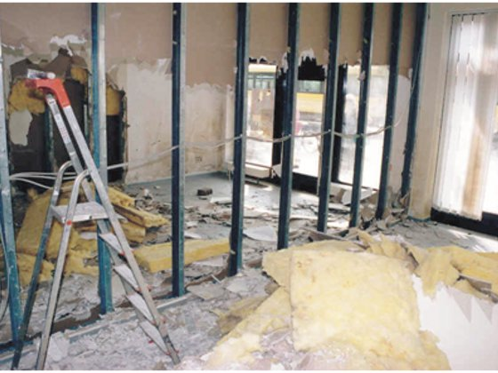 sanierung von hochwassersch den schadensprozesse bei baustoffen energie fachberater. Black Bedroom Furniture Sets. Home Design Ideas