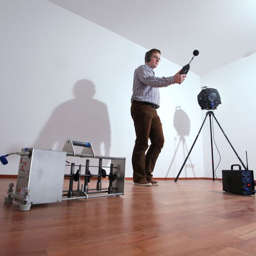 Schallschutz Test Nach Innenausbau Bild Grsser Anzeigen