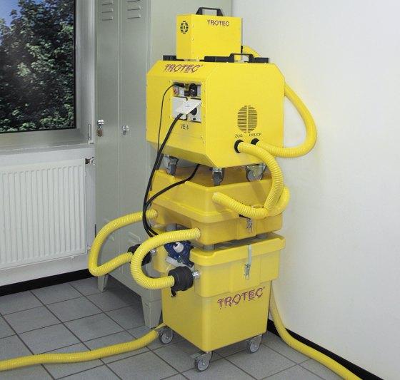 Technische Bautrocknung Nach Wasserschaden Energie Fachberater