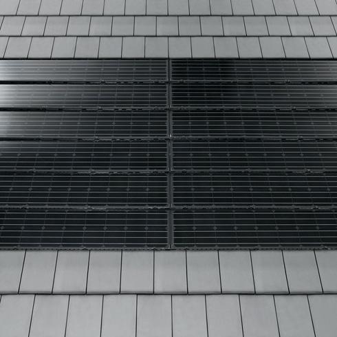 photovoltaik indach systeme passend zur dacheindeckung. Black Bedroom Furniture Sets. Home Design Ideas