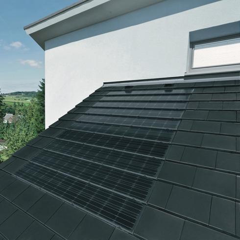 Photovoltaik indach oder aufdach