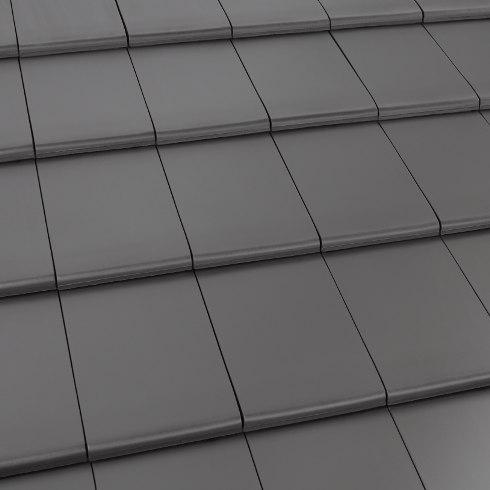 Häufig Geradliniger Dachziegel für moderne Dacheindeckung - ENERGIE YC28