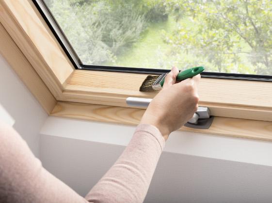 Beliebt Holzfenster richtig streichen und pflegen - ENERGIE-FACHBERATER DX01