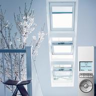 dachfenster und zubeh r automatisch per funkbedienung steuern energie fachberater. Black Bedroom Furniture Sets. Home Design Ideas