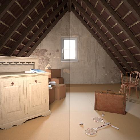 Gut gemocht Begehbare Dachbodendämmung mit Steinwolle - ENERGIE-FACHBERATER LV85