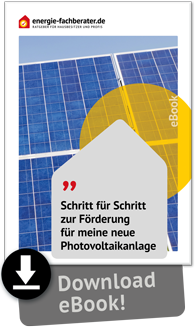eBook Förderung Photovoltaik