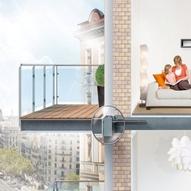 Relativ Balkon am Altbau einfach nachrüsten - ENERGIE-FACHBERATER UJ62