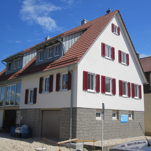 Top Mineralischer Fassaden-Putz hält jedem Wetter stand - ENERGIE EO35