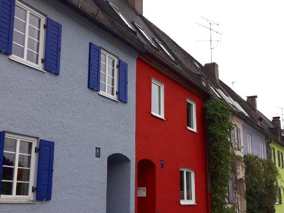 Fassadenfarben Geben Dem Haus Einen Neuen Look Energie