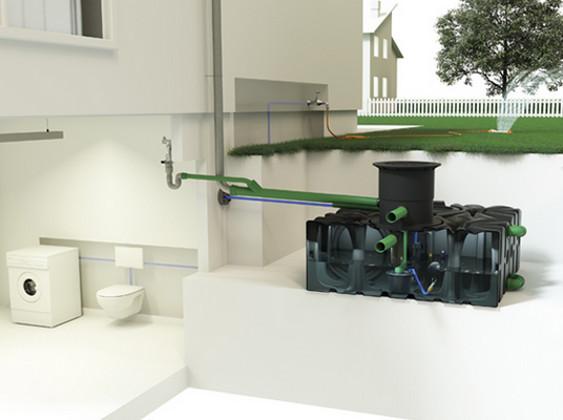 die richtige gr e f r den regenwassertank berechnen. Black Bedroom Furniture Sets. Home Design Ideas