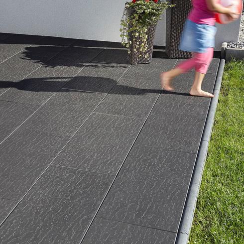 Keramische Platten im Großformat für Terrasse, Balkon und ...
