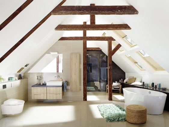 Neues Bad im Dachgeschoss: Das müssen Hausbesitzer beachten ...