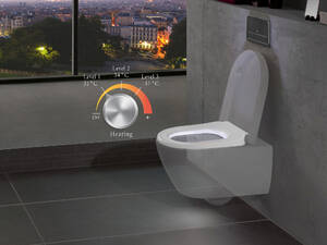 Digitales Bad - WC im Universal Design