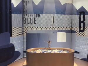 blaues bad auf der ish 2019 bild grosser anzeigen