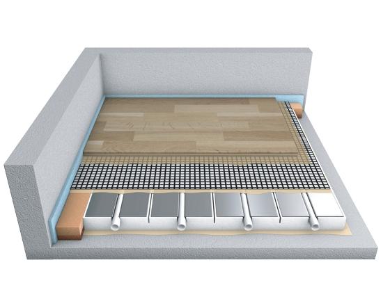 Bevorzugt Parkett plus Fußbodenheizung machen Schluss mit kalten Füßen QJ02