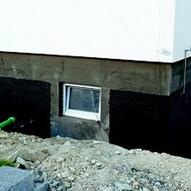 Beliebt Nachträgliche Außenabdichtung der Kellerwand - ENERGIE-FACHBERATER ZA81